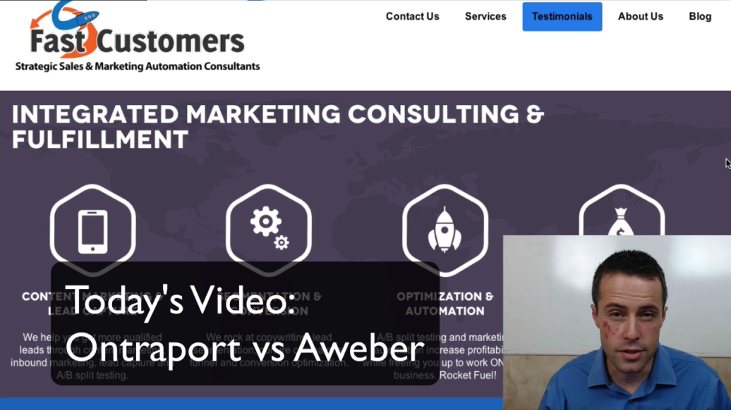 Ontraport Versus Aweber Video